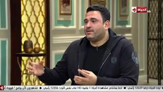 قهوة أشرف - أكرم حسني: خبطت عربيتي بنفسي ونزلت عايز أتخانق معايا بس مش عارف أقول إيه
