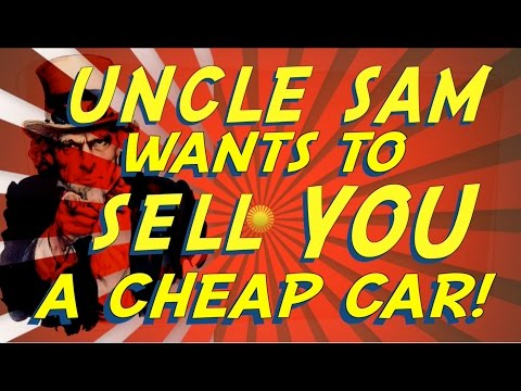 How To Buy A Cheap Car From Uncle Sam - Government Auto Auctions (GSA) - Pt I