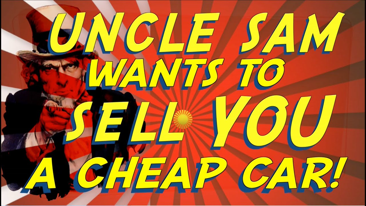 How to Buy a Cheap Car from Uncle Sam Government Auto