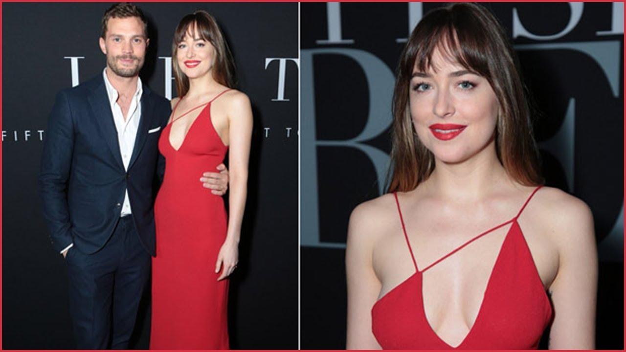 На пятьдесят оттенков темнее красное платье фото