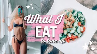 WHAT I EAT IN A DAY | Summer Shred Ep.1