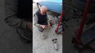 Çubuk sanayide renault 12 tx arabami bastım  (06 YA 411)