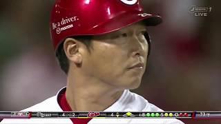 【今日の新井さん】 今日は4回裏、代打で出場 2アウトランナー2塁、2塁...