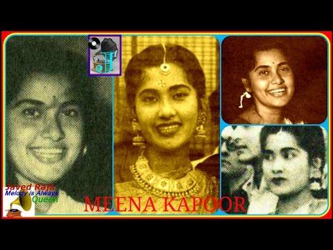 MEENA KAPOOR-Film-AADHI RAAT-1950-Lo Jawani Ka Zamana Aagaya-[ Rare Melo ]