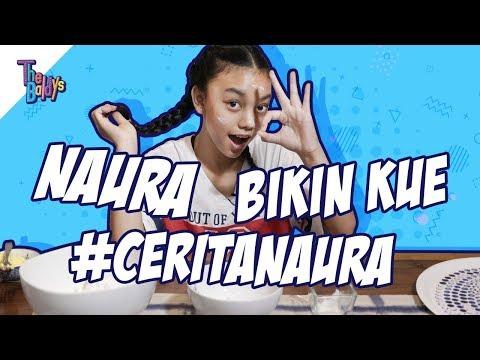 The Baldys - Naura bikin kue #ceritanaura