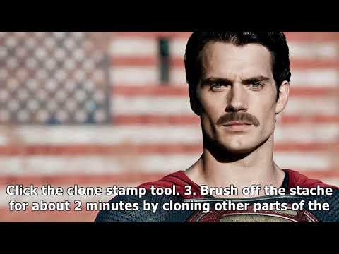 The internet reacts to superman's mustache cgi