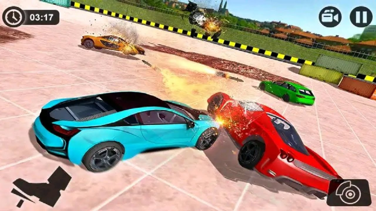 Derby Car Crash Stunts Game Car Racing Stunts Android Game Play