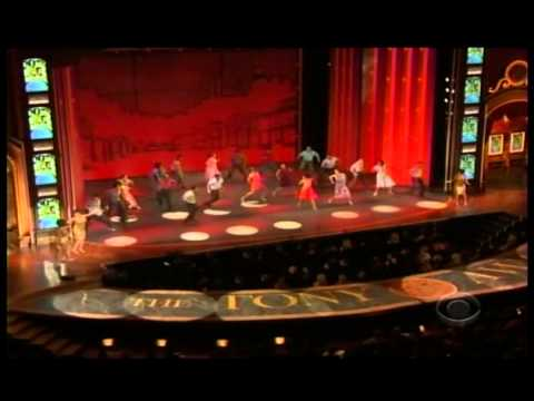 Jersey Boys Cast Introducing Motown the Musical at the 2013 Tony Awards