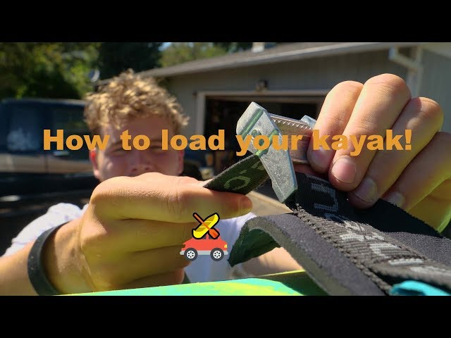 loading a kayak for Dummies by Dummies