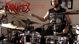 Carnifex- All Roads Lead to Hell Drum Cover