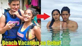 Andrea Brillantes at Kyle Echarri VACATION in Cebu! Sila na ba?