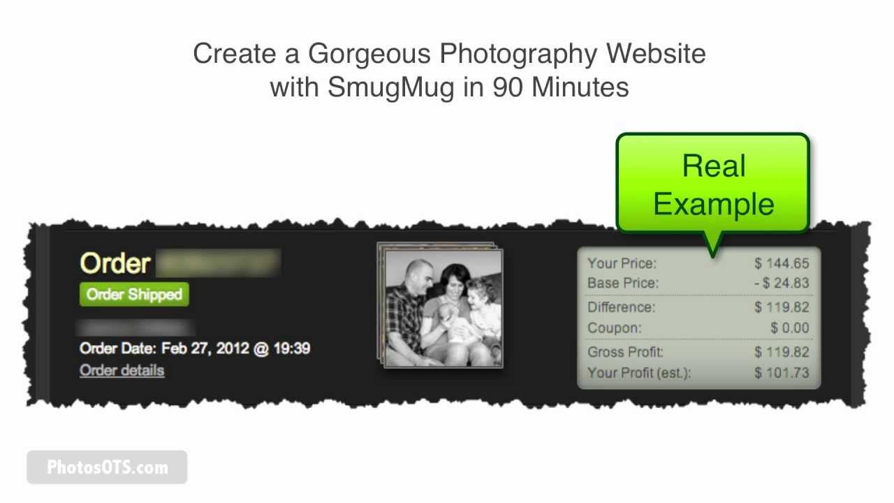 How to Create a Gorgeous Photography Website with SmugMug in 90