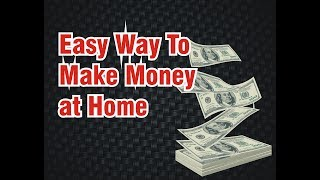 How to make Money online from home and making passive income with no investment in Urdu / Hindi