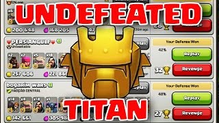 Clash of Clans | DEFENDING AGAINST TITANS - DID I CREATE BEST TH10 BASE?