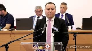 TREĆA SKUPŠTINA GO OBRENOVAC, 2019 - Obraćanje predsednika GO Obrenovac Miroslava Čučkovića