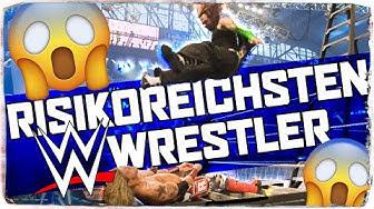 Top 10 der risikoreichsten WWE-Wrestler (Deutsch/German)    Paraflow