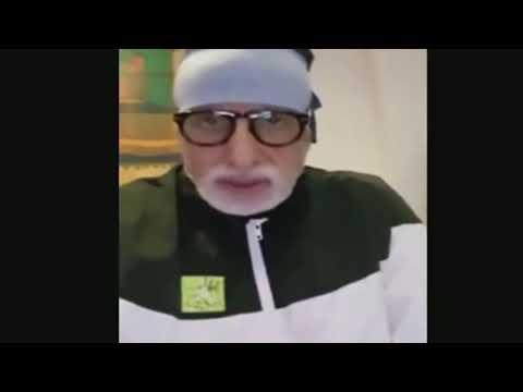 Amitabh Bachchan New Viral Video ,Amitabh Bachchan latest from hospital