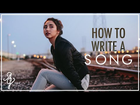 HOW TO WRITE A SONG // Can I write a song about you?