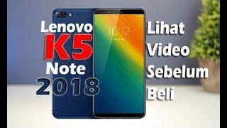 Lenovo K5 Note 2018 Ram 4GB Internal 64GB Garansi Distri