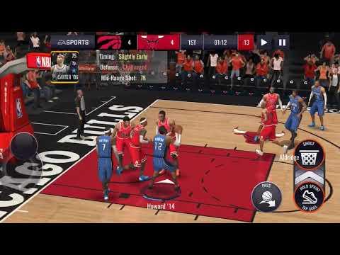 NBA Live Mobile Toronto Raptor Against Chicago Bulls