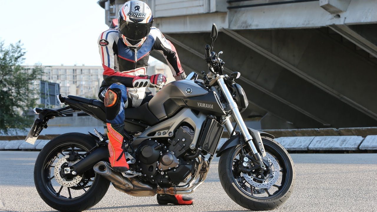 09 >> First Test Yamaha Mt 09 Action Details Engl Subs Mit K Ot