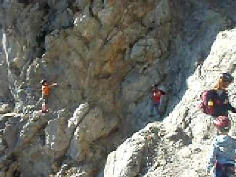 Klettersteig Wilder Kaiser : Klettersteig wilder kaiser jubiläumssteig youtube