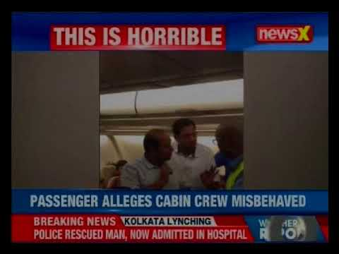 Singapore airlines staff misbehaved with passengers