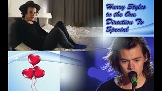 Harry Styles in One Direction Tv special