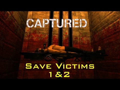 Captured - Early Access Demo [Pre-Alpha] v2.0.0 Walkthrough Gameplay Save Victims 1&2