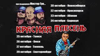Красная Плесень - Турне по Сибири и Уралу (приглос)