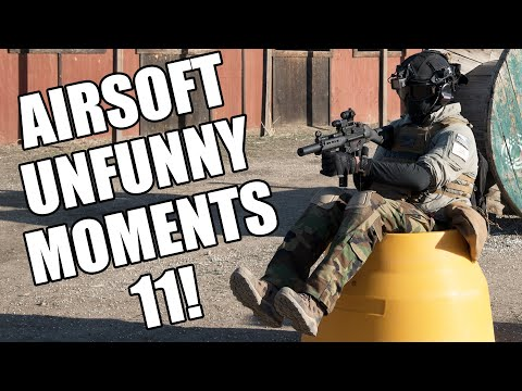 """Airsoft Unfunny Moments 11 - """"Worcestershire"""", Coffee, and Shenanigans!"""