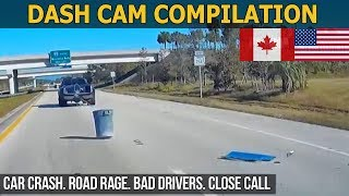 Dash Cam Compilation (USA, Canada) Car Crashes in America 2017 - 2018 # 20