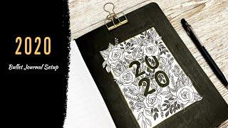 Bullet Journal Setup ♡ 2020 ♡ Plan With Me ♡ With Dutch Door