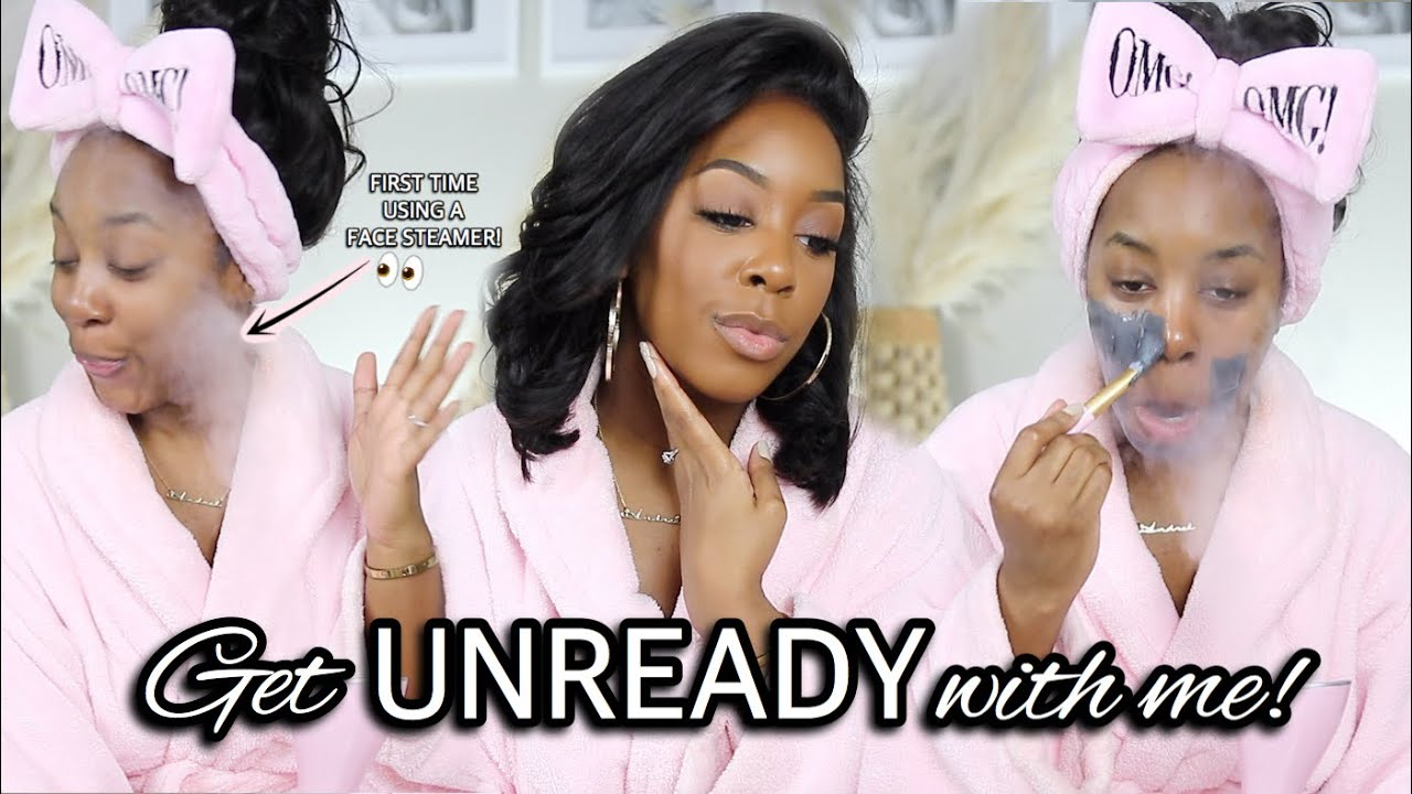 GET UNREADY WITH ME! | MY FULL (AND THOROUGH) NIGHTTIME SKINCARE ROUTINE | Andrea Renee