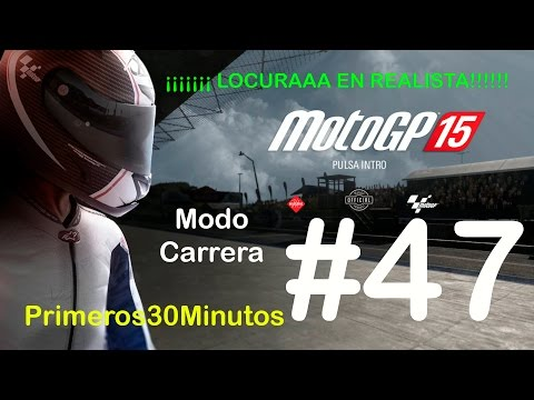 MotoGP 15 | Modo Carrera #47 | G.P. de Australia REALISTA Comentado en Español