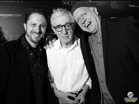 Woody Allen Red-Carpet Interview for Café Society
