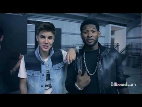 Justin Bieber and Usher - Billboard Photoshoot 2012