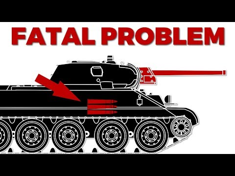 The T-34's Fatal Gun Problem in 1941