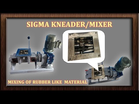 Kneader Extruder Manufactured by Frigmaires Mumbai India