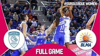 Dynamo Kursk (RUS) v BLMA (FRA) - Live Stream - EuroLeague Women 2016/17