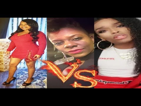Pajama Party Exclusive Tasha K Lovelyti & Malibudollface Face Off In The Lions Den