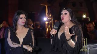 قناة المهرجان - فيفي عبده وإبنتها عزة CIFF_38