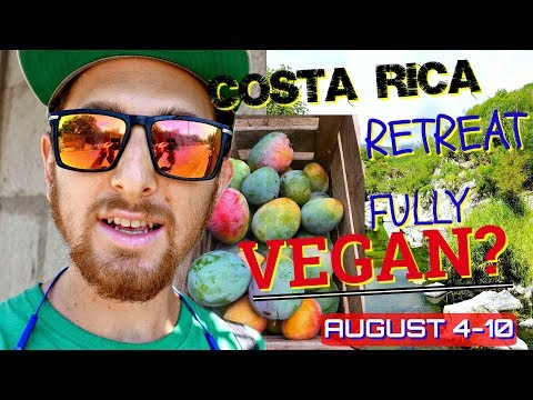 Will My Costa Rica Summer Retreat Be VEGAN?
