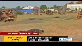 S Sudan president declares state of emergency