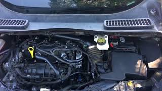 How to change a battery the right way on a  2013 Ford Escape SE
