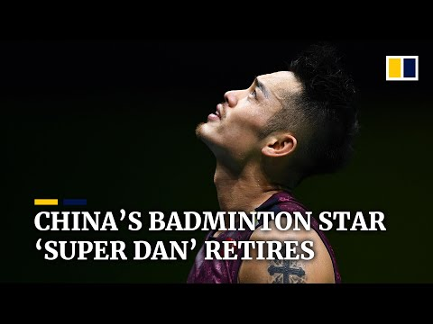 Chinese badminton superstar Lin Dan quits after 20 years and two Olympic gold medals