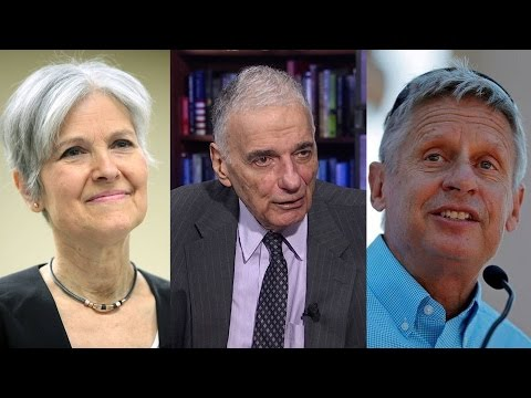 Two-Party Tyranny: Ralph Nader on Exclusion of Third-Party Candidates from First Presidential Debate