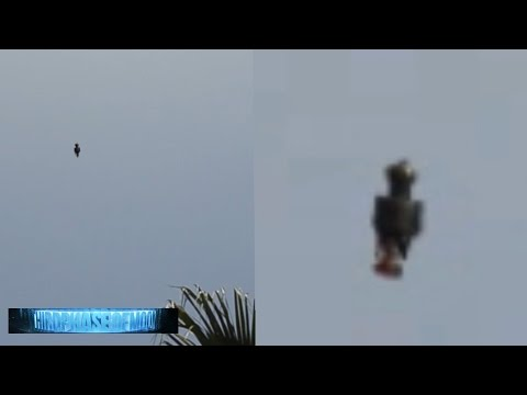 UNEXPLAINED!! UFO FLYING HUMANOID FLORIDA! CRAZY HD VIDEO!! 5/7/2016