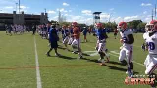 Florida Gators Football Spring Practice #6 (March 25, 2015)