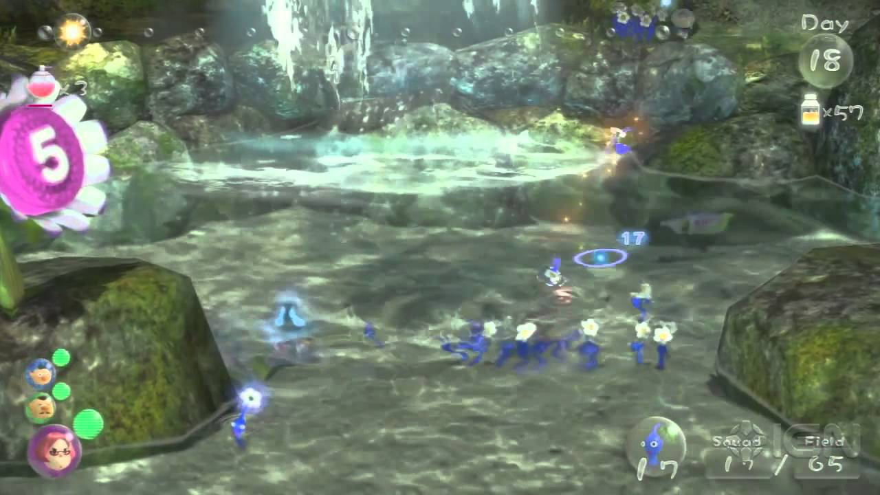 Pikmin 3 Walkthrough Tropical Wilds Fruit Locations Youtube